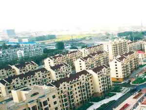 One of China's many new public housing complexes. Last year China started construction of&lt;br /&gt;&lt;br /&gt;<br /> over ten million new public housing dwellings.