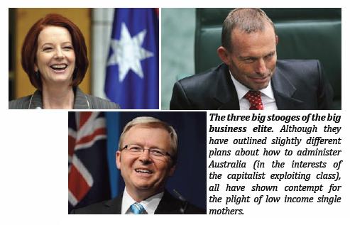 Three Stooges of Capitalism