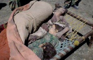 The Rudd/Gillard ALP social democrats in government have maintained most of John Howard's reactionary policies from participating in the NATO occupation of Afghanistan to the cruel imprisonment of asylum seekers. An Afghan woman and her two children murdered by a NATO air strike.